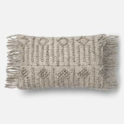 PILLOWS - GREY - Magnolia Home by Joana Gaines Crafted by Loloi Rugs