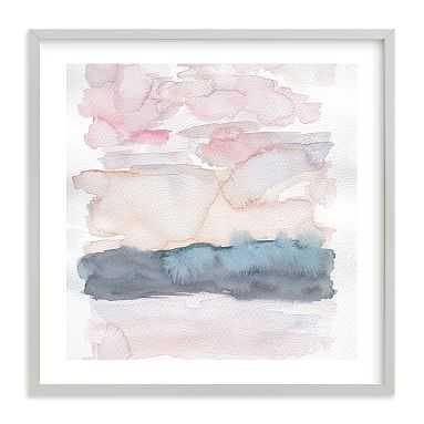 Hebridean Sunset No 1 Wall Art by Minted(R), 30 x 30, Gray - Pottery Barn Teen