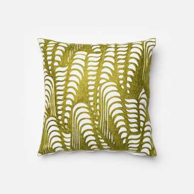 """PILLOWS - GREEN - 18"""" X 18"""" Cover Only - Loma Threads"""