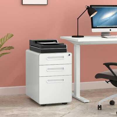 Brodie 3-Drawer Vertical Filing Cabinet - Wayfair