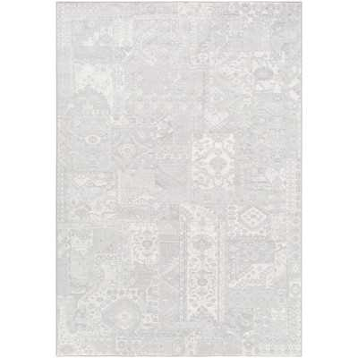 Shenk Gray/Neutral Area Rug - Wayfair
