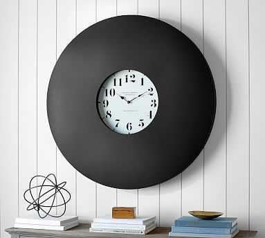 Industrial Wall Clock - Pottery Barn