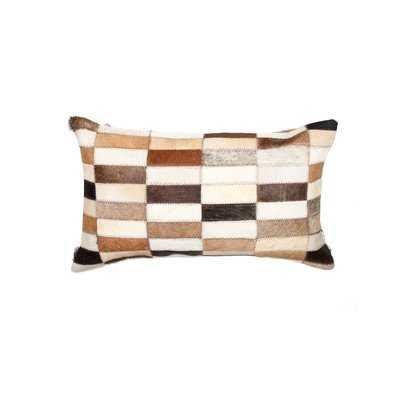 Graham Leather Lumbar Pillow - Wayfair