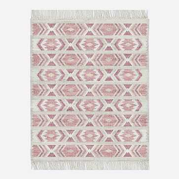 MTO Campo Rug, Macaroon Pink, 8x10 - West Elm