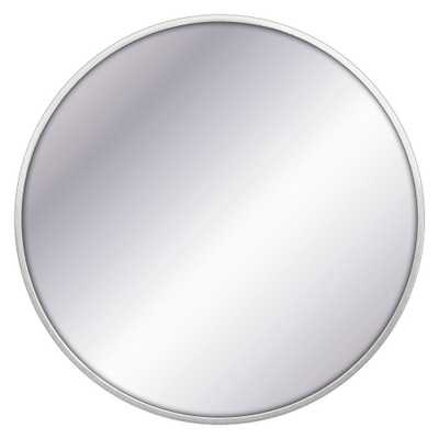 32 Round Decorative Wall Mirror Silver - Project 62 - Target