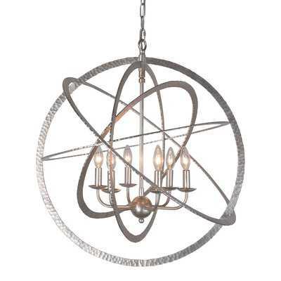 Mucha 6-Light Globe Chandelier - Wayfair
