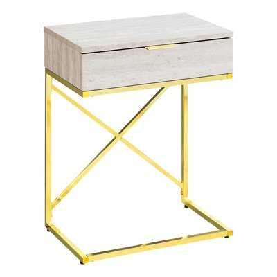 Hemlock End Table with Storage - Wayfair
