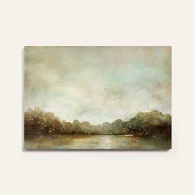 """Ballard Designs Suzanne Kasler Bayonne Stretched Canvas  36"""" x 51"""" - Ballard Designs"""