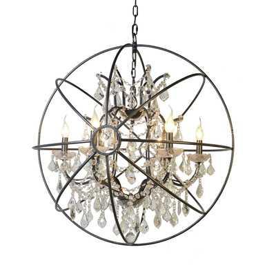 Cearbhall 6-Light Globe Chandelier - Wayfair