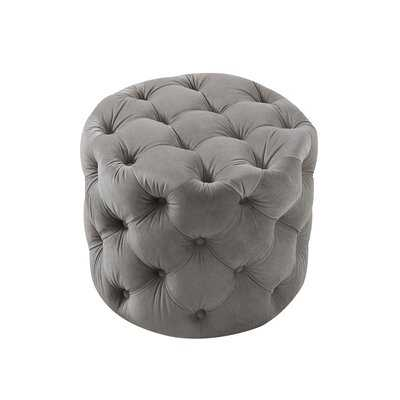 Mucha Tufted Cube Ottoman - AllModern