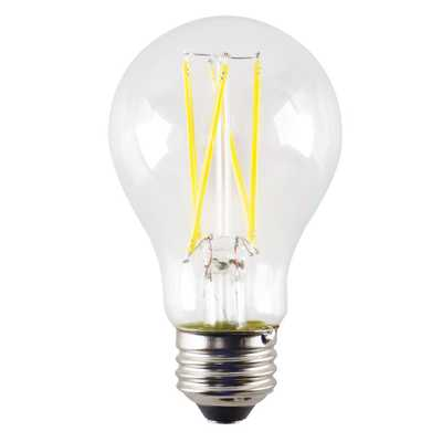 ProLED Filament LED 60-Watt Equivalent Warm White Clear A19 Dimmable LED Antique Vintage Style E26 Light Bulb - Home Depot