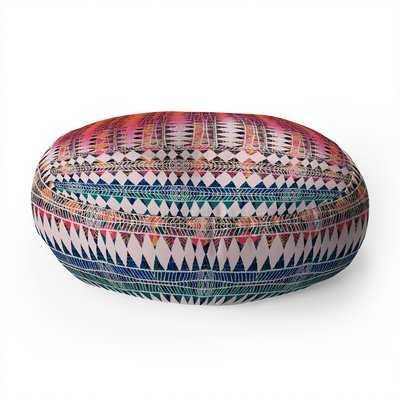 Bel Lefosse Design Tribalism Round Floor Pillow - Wayfair