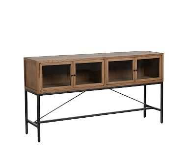 Inglewood Console Table, Warm Taupe - Pottery Barn