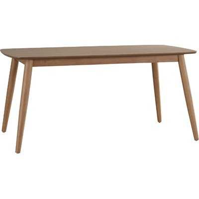 "Caro Dining Table // Natural Wood // 63""L - Wayfair"