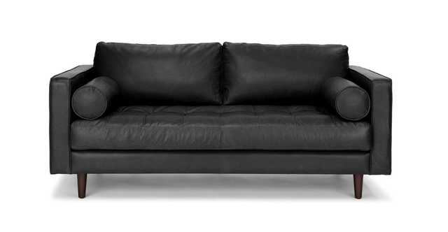 "Sven Oxford Black 72"" Sofa - Article"