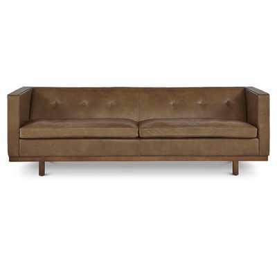 Correia Leather Sofa - Wayfair