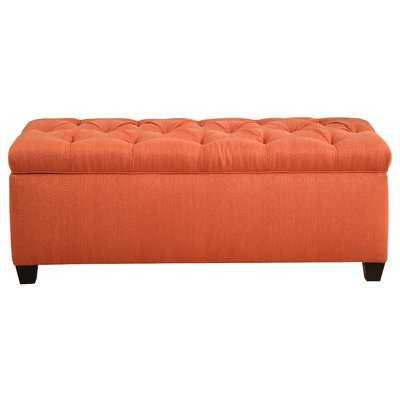 Heaney Diamond Tufted Upholstered Storage Bench - Wayfair