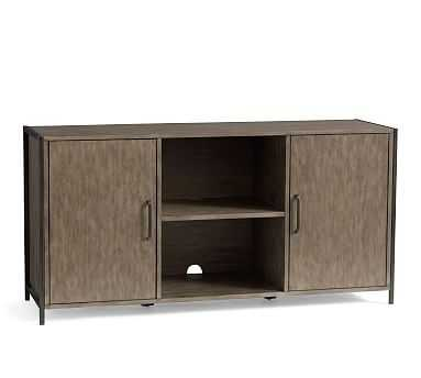 Ramsey Media Console, Earl Gray - Pottery Barn