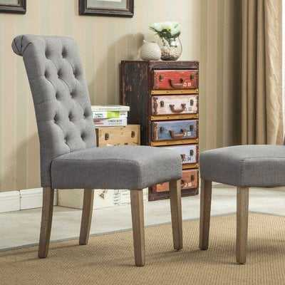 Charlotte Upholstered Dining Chair (set of 2) - Birch Lane