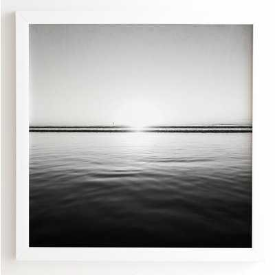 Calm Sea by Bree Madden - Picture Frame Photograph Print on Wood - AllModern
