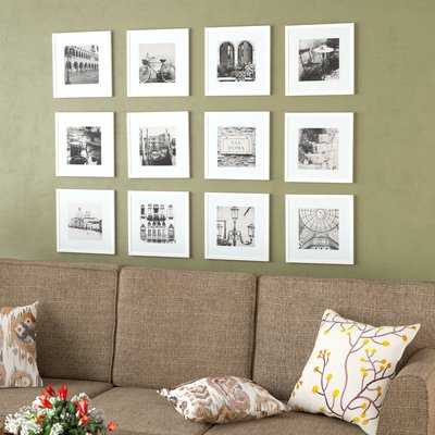 12 Piece Noland Matted Picture Frame Set - AllModern