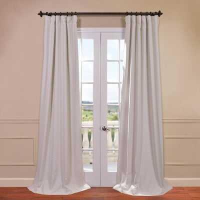 Freemansburg Solid Blackout Thermal Rod Pocket Single Curtain Panel - AllModern