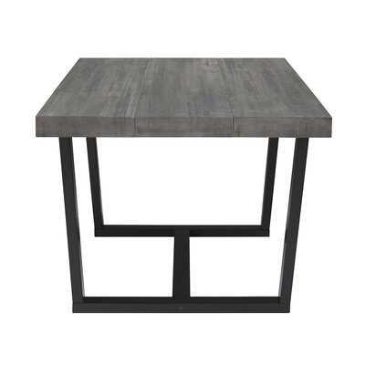 Marine Distressed Solid Wood Dining Table - Wayfair
