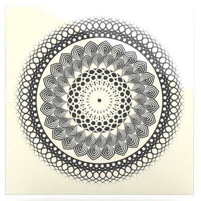 'Boho Mandala' Graphic Art Print on Metal - Wayfair