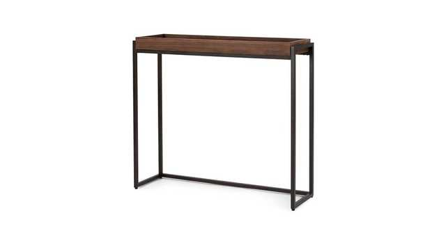Oscuro Walnut Console - Article