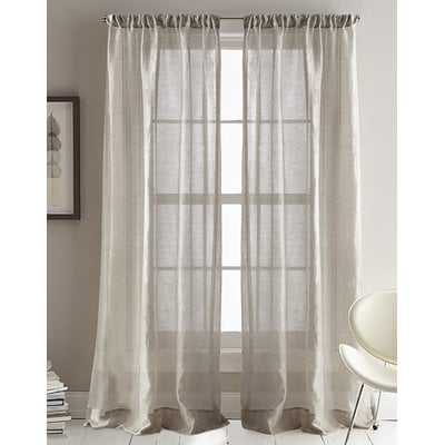 City Sky Sheer Rod Pocket Curtain Panels - AllModern