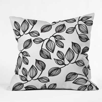 The Leaves Throw Pillow - Wayfair