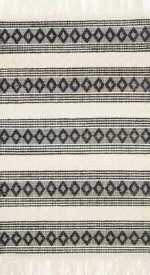 HOLLOWAY - IVORY / BLACK - Loma Threads