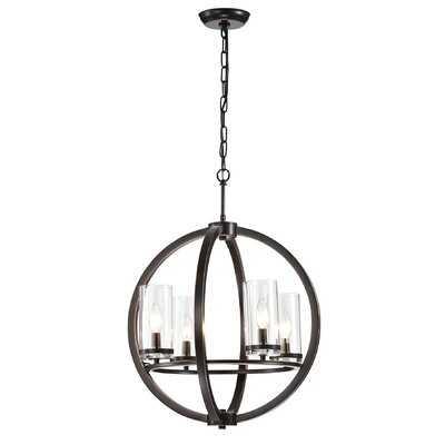Stoutland 4-Light Globe Chandelier - Wayfair