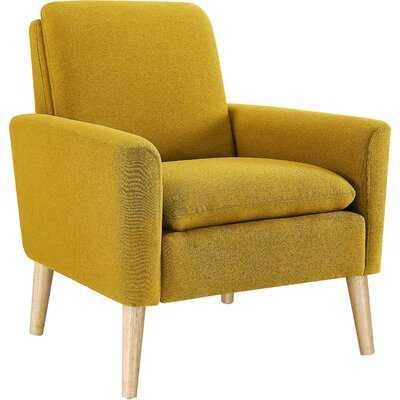 """George 30"""" W Linen Blend Armchair - Wayfair"""