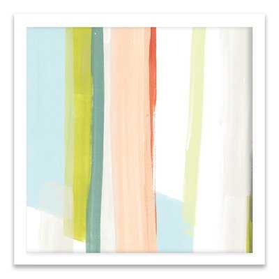 Litmus I by June Erica Vess - Picture Frame Print on Canvas - AllModern