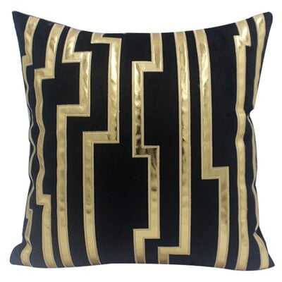 Ahana Embroidered Velvet Throw Pillow Cover - Wayfair
