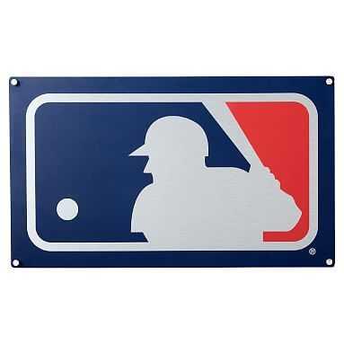 "MLB Metal Sign, 18.85""x32"" - Pottery Barn Teen"