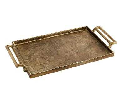 Long Metal Tray - Small - Pottery Barn