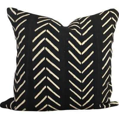 Newfolden Arrow Chevron Print Cotton Throw Pillow Cover - AllModern