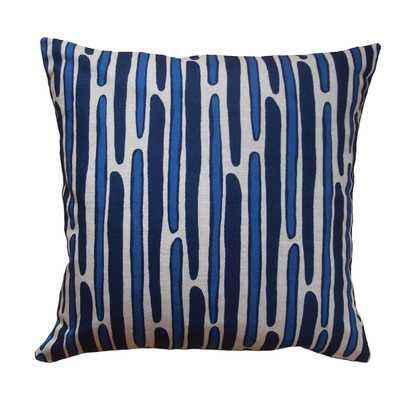 Morris Hand Printed Throw Pillow - Wayfair