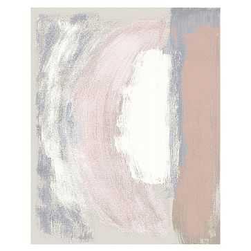 Painted Terrace Rug, Rosette, 8x10 - West Elm