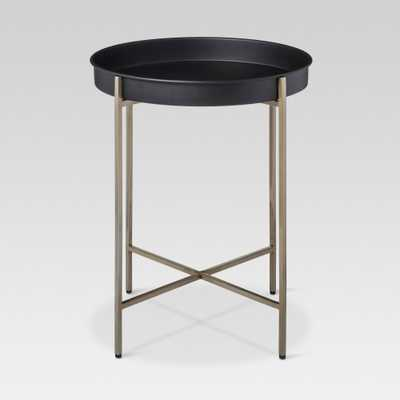 Brass Tray Accent Table - Threshold - Target
