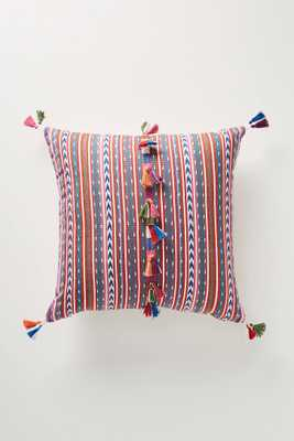 Woven Rosado Pillow - Anthropologie