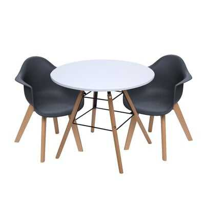 Rebello Kids 3 Piece Writing Table and Chair Set - AllModern