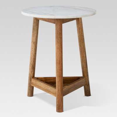 Lanham Marble Top Side Table - Threshold - Target