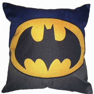 SuperHeroes Batman Cotton Throw Pillow - Wayfair