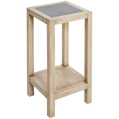 Hummel Wood Square Small End Table - Wayfair