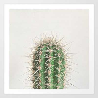 Cactus Art Print - Mini by Cassiabeck - Society6