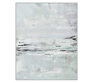 "Gray Surf Canvas, 32 x 40"" - Pottery Barn"