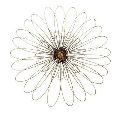 Metal Flower Wall Decor - AllModern